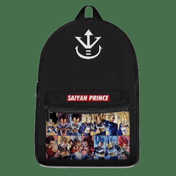 Supreme Super Saiyan Prince Vegeta Evolution Dope Backpack