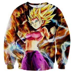 Dragon Ball Super Caulifla Super Saiyan 2 Epic Sweatshirt