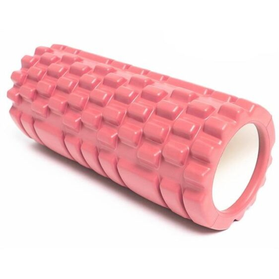 Flamingo Pink Resin Yoga Massage Roller for Pilates Workout - Yoga Props - Chakra Galaxy