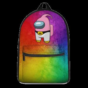 Dragon Ball Among Us Majin Buu Parody Cute Backpack