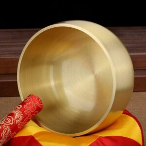 Hand Hammered Tibetan Buddhism Singing Bowl for Yoga & Chakra Meditation - Singing Bowl - Chakra Galaxy