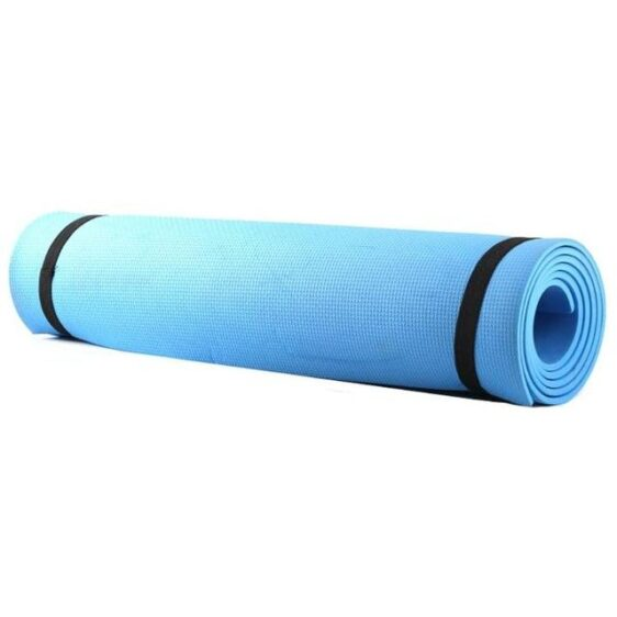 Heavenly Sky Blue Beginners Low-Cost Yoga Mat for Hatha Yoga EVA - Yoga Mats - Chakra Galaxy