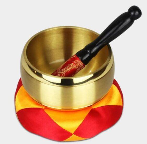 High-Quality Copper Tibetan Sound Chakra Meditation Singing Bowl - Singing Bowl - Chakra Galaxy