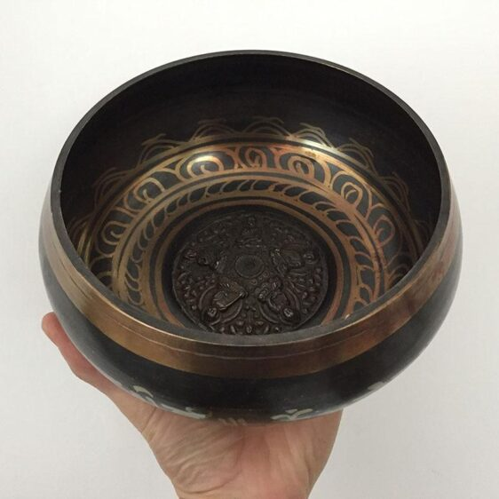 Himalayan Buddhist Tibetan Singing Bowl for Yoga & Chakra Healing - Singing Bowl - Chakra Galaxy