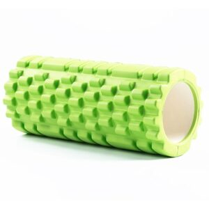 Kelly Green Resin Yoga Massage Roller for Easing Muscle Pain - Yoga Props - Chakra Galaxy
