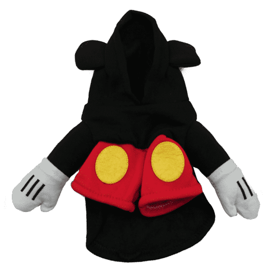 Mickey Mouse Funny Standing Costume for Dog - Woof Apparel