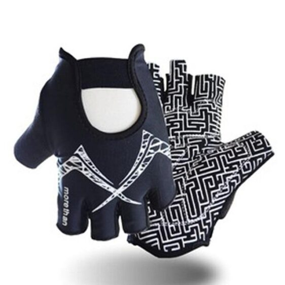 Mind-Blowing Zebra B&W Thick Yoga Workout Gloves for Wrist Support - Yoga Gloves - Chakra Galaxy
