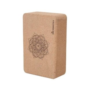 Natural Cork OM Mandala Symbol Eco-Friendly Workout Yoga Block - Yoga Blocks - Chakra Galaxy
