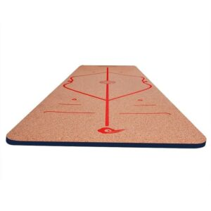 Natural Durable Cork Style Yoga Mat with Position Line for Daily Yoga Workout - Yoga Mats - Chakra Galaxy