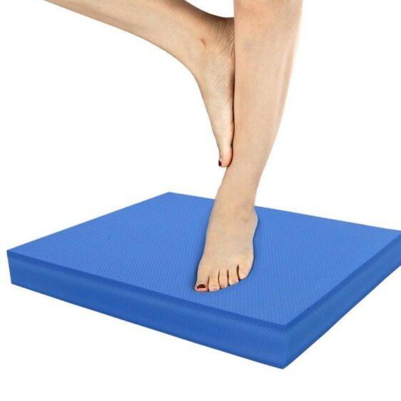 Ocean Blue Best Yoga Non-Skid Balance Pad for Core Strengthening TPE - Yoga Mats - Chakra Galaxy