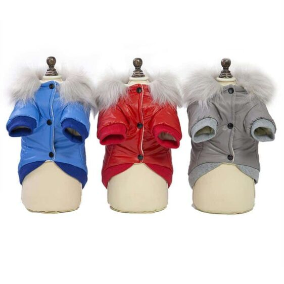 Cozy Autumn And Winter Soft Fur Coat For Small Dogs - Woof Apparel