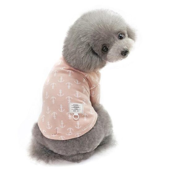 3 Colors Anchor  Autumn Winter Jackets for  Small Dogs - Woof Apparel
