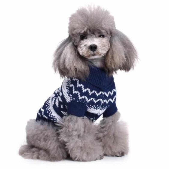 Warm Knitted Sweater Sweatshirt for Christmas for Dogs - Woof Apparel
