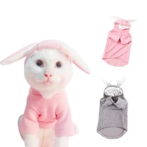 Cartoon Rabbit Soft Warm Winter Puppy Cat Sweater Shirt - Woof Apparel