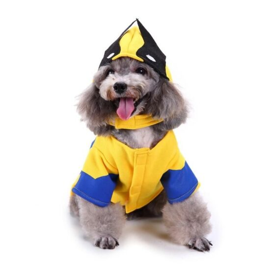 Adorable Wolverine Cosplay Coat Costume for Dogs - Woof Apparel