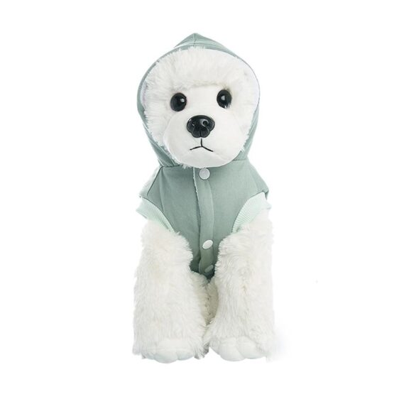 Cozy Soft Fleece Lining Winter Jumpsuit For Small Dogs - Woof Apparel