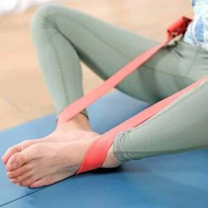 Peach Cotton Yoga Strap for Incredible Stretching Sessions - Yoga Straps - Chakra Galaxy