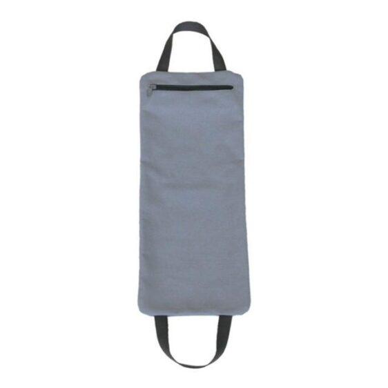 Perfect Gray 14 in Yoga Sandbag for Pilates and Concentration - Yoga Sandbags - Chakra Galaxy