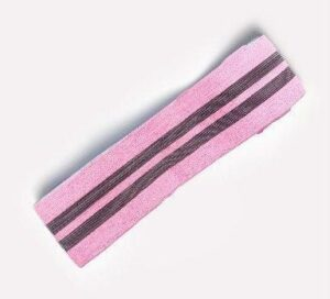 Pink Blossom Tension Band for Everyday Yoga Session and Squat Exercises - Yoga Bands - Chakra Galaxy