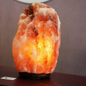 Purifying Himalayan Natural Crystal Pink Salt Large Size Lamp - Himalayan Salt Lamp - Chakra Galaxy