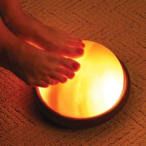 Purifying Himalayan Pink Crystal Salt Lamp Feet Detox Dome - - Chakra Galaxy