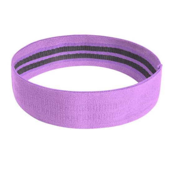 Purple Light Weight Elastic Yoga Band For Flexibility and Yoga Workout - Yoga Bands - Chakra Galaxy