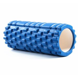 Sapphire Blue Resin Yoga Massage Roller for Pilates Workout - Yoga Props - Chakra Galaxy