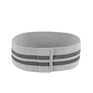 Smoky Gray Elastic Strenght Yoga Bands for Fitness Training Equipments - Yoga Bands - Chakra Galaxy