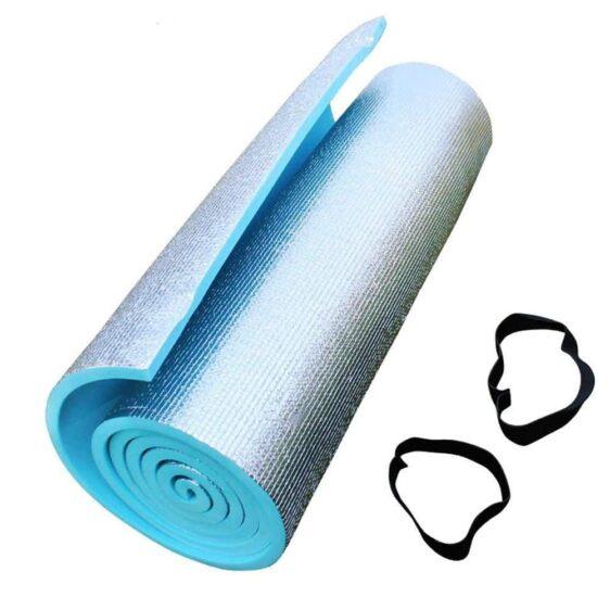 Sparkling Cerulean Blue Cheap Yoga Mat for Hot Yoga Exercises EVA - Yoga Mats - Chakra Galaxy