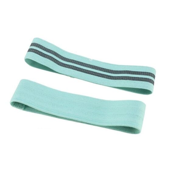 Spearmint Flexible Yoga Stretch Band for Hip Exercise and Fitness Drill - Yoga Bands - Chakra Galaxy