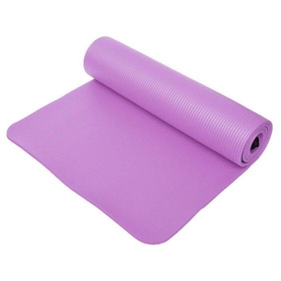 Standard Amethyst Purple Cheap Yoga Mat for Bikram Yoga NBR - Yoga Mats - Chakra Galaxy