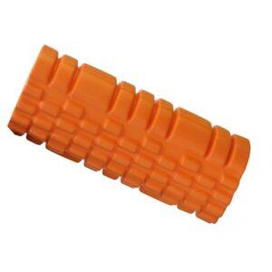 Tiger Orange Resin Yoga Massage Roller for Pilates Workout - Yoga Props - Chakra Galaxy