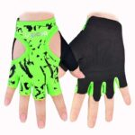 Ultramodern Kelly Green Yoga Workout Gloves for Injury Prevention - Yoga Gloves - Chakra Galaxy