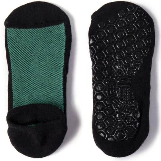 3 Pairs Unisex Breathable Mesh Cotton Material Non-Slip Silicone Grips Yoga Socks