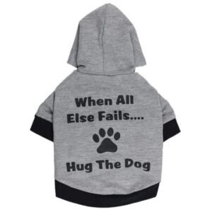 Hug The Dog Cute Soft Winter Hoodie For Small Dogs - Woof Apparel