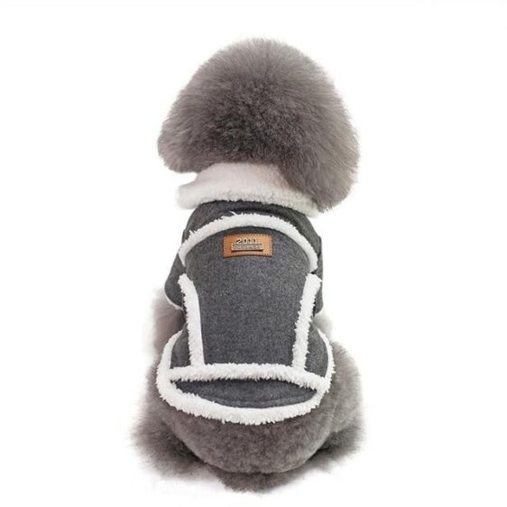 Soft Winter Coat With Warm Fleece Lining Collar For Dogs - Woof Apparel