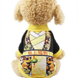 Adorable Emperor Dog Coat Soft Winter Puppy Sweatshirt - Woof Apparel