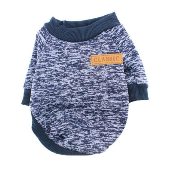 10 Colors Winter Dog Clothes Soft And Warm Puppy Sweatshirt - Woof Apparel
