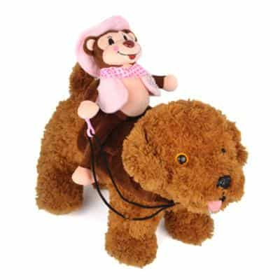 Monkey Rider Rodeo Funny Novelty Costume for Dog - Woof Apparel