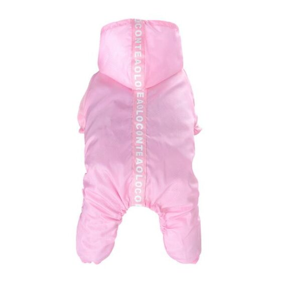 Cute Bright Colors Breathable Mesh Raincoat For Dog - Woof Apparel