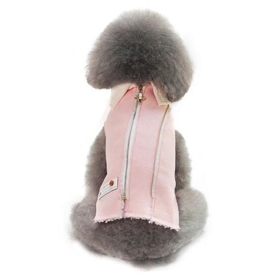 Soft Fleece Warm Winter Coat With Zipper For Small Dogs - Woof Apparel