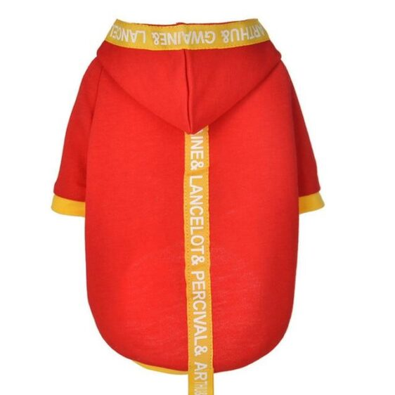Fashionable Overall Clothes Warm Winter Dog Hoodie - Woof Apparel