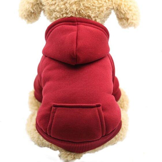 Warm & Comfy Fur Fall Winter Soft Fleece Hoodie for Dogs - Woof Apparel