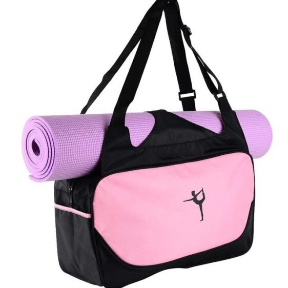 Waterproof Yoga Sports And Fitness Pilates Carrier Pink Gym Bag - Yoga Mat Bags - Chakra Galaxy