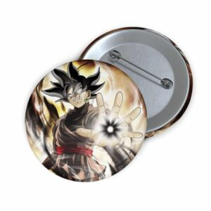 Dragon Ball Super Powerful Goku Black Illustration Pin Button