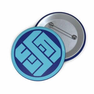 DBS Universe 6 The Challenging Universe Symbol Pinback Button