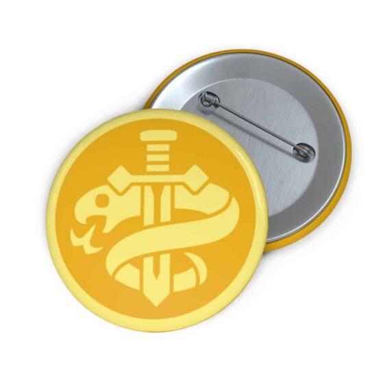 DBS Universe 4 The Conspiracy Universe Symbol Green Pin Badge