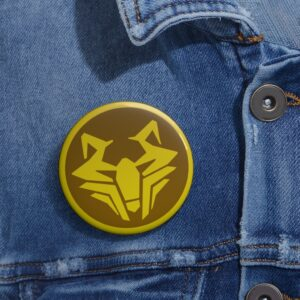 DBS Universe 9 The Improvised Universe Symbol Cool Pin Badge