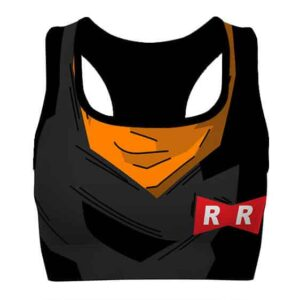 Android 17 Cosplay Detailed Dragon Ball Z Cool Sports Bra