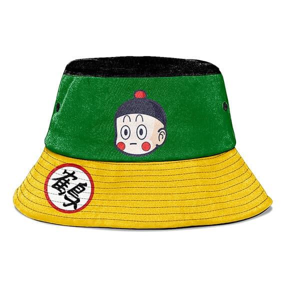 Chiaotzu DBZ Green Yellow and Black Cute Bucket Hat